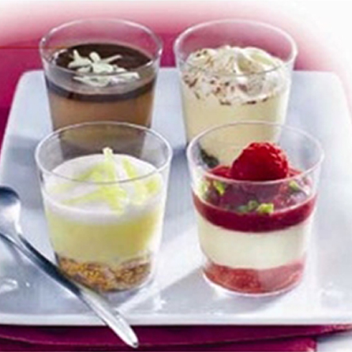 Mini Dessert Cups Gourmet Kitchen